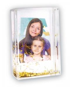 Cornice con Glitter Oro